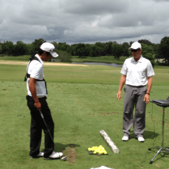 Working with PGA Tour Player, Grant Waite